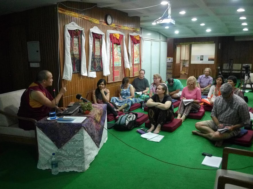 Lecture Session at Tibet House