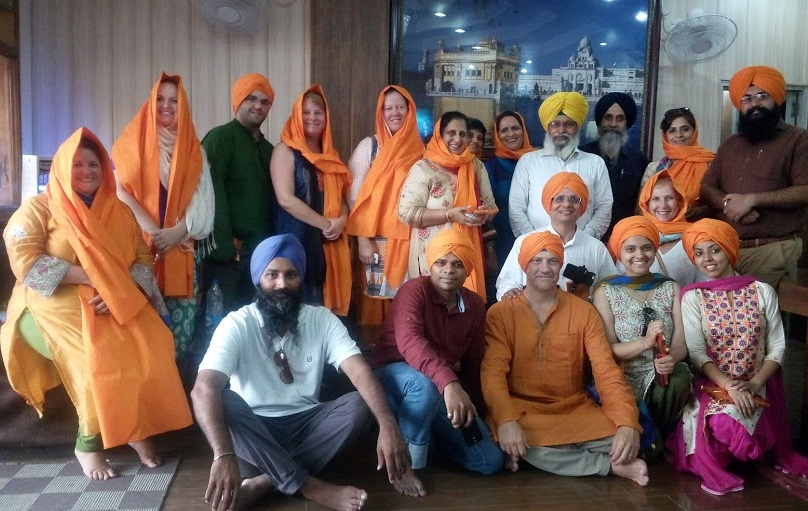 Turban Experience at Golden Temple During UTTI 2016